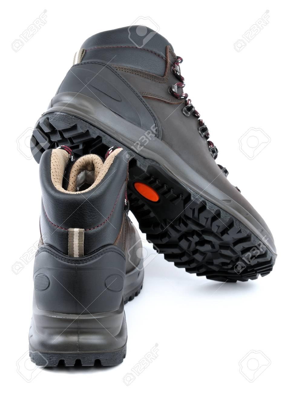 Waterproof Trekking Shoes Men's Leather