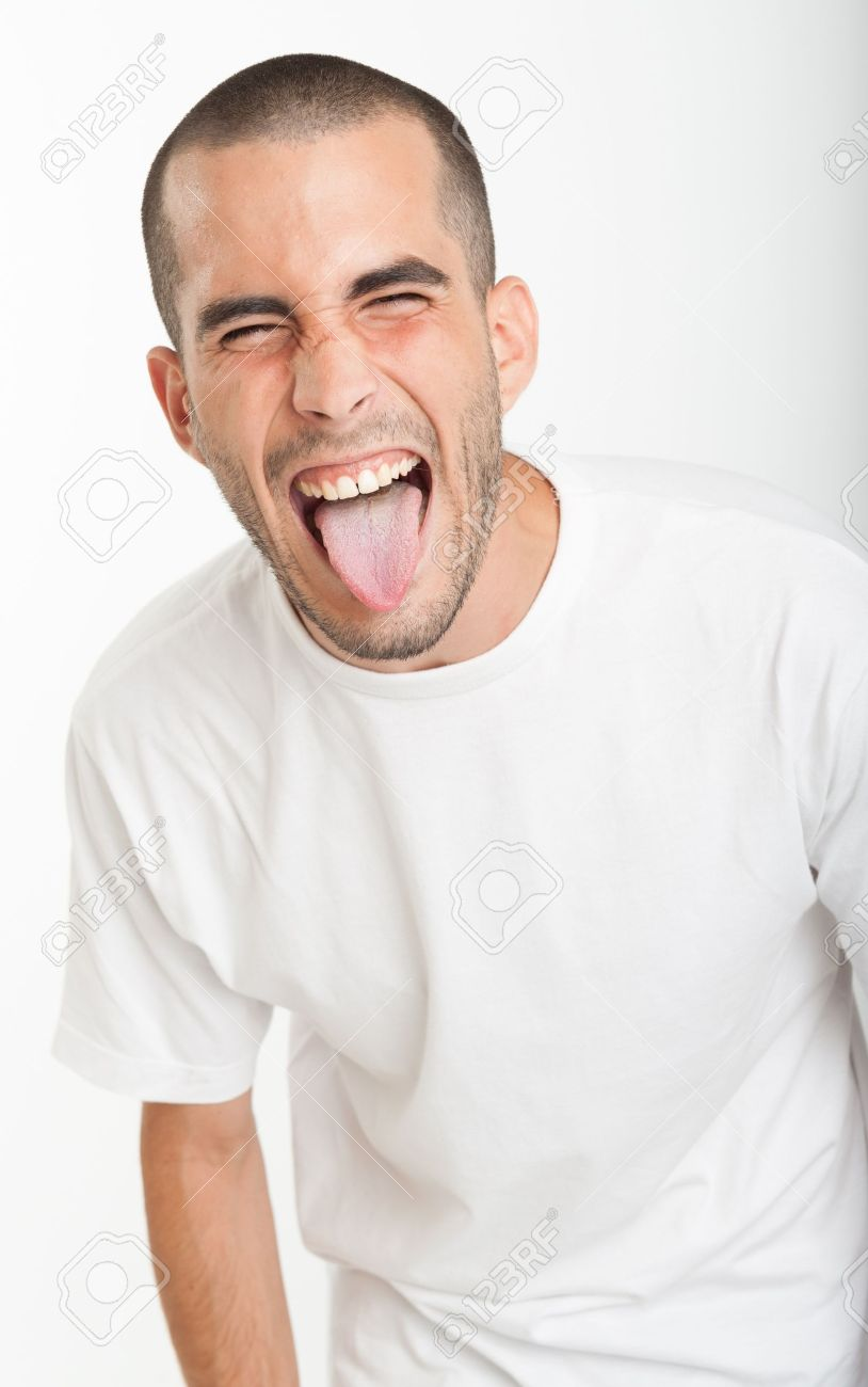 Stick tongue do out in their guys pictures why Purpose of