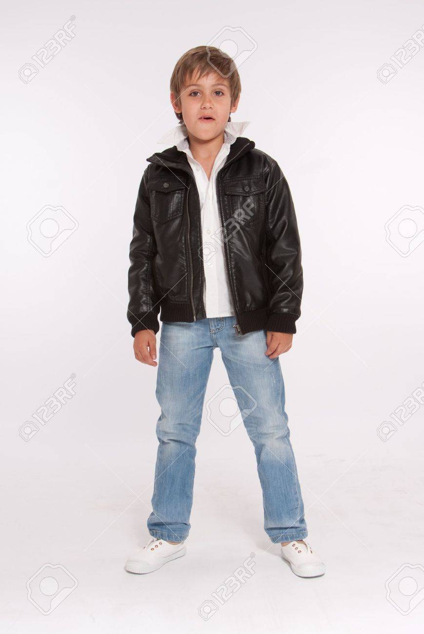 Leather Jeans For Boys Jeans And a Leather Jacket