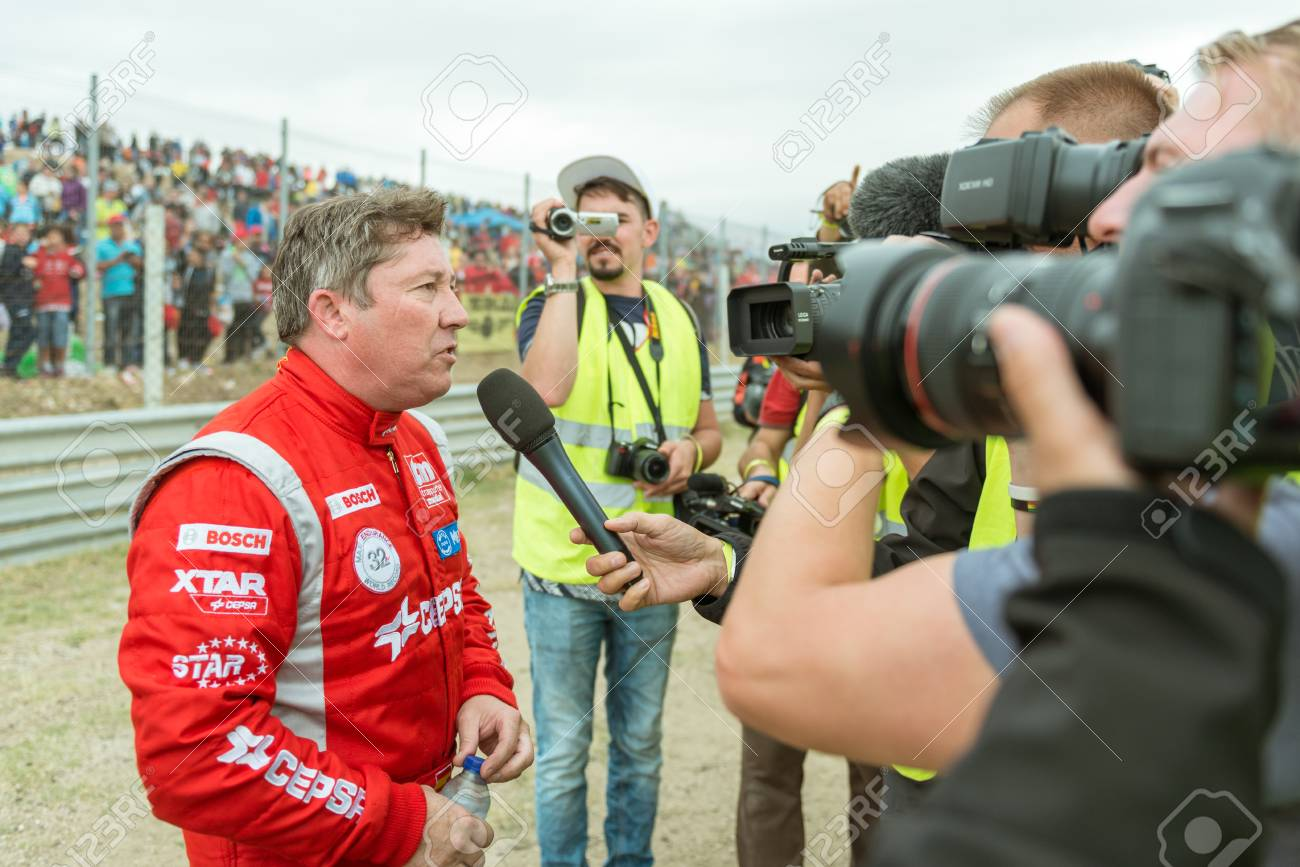 Albacete Circuit : Madrid spain october 3 2015. xxix european truck racing