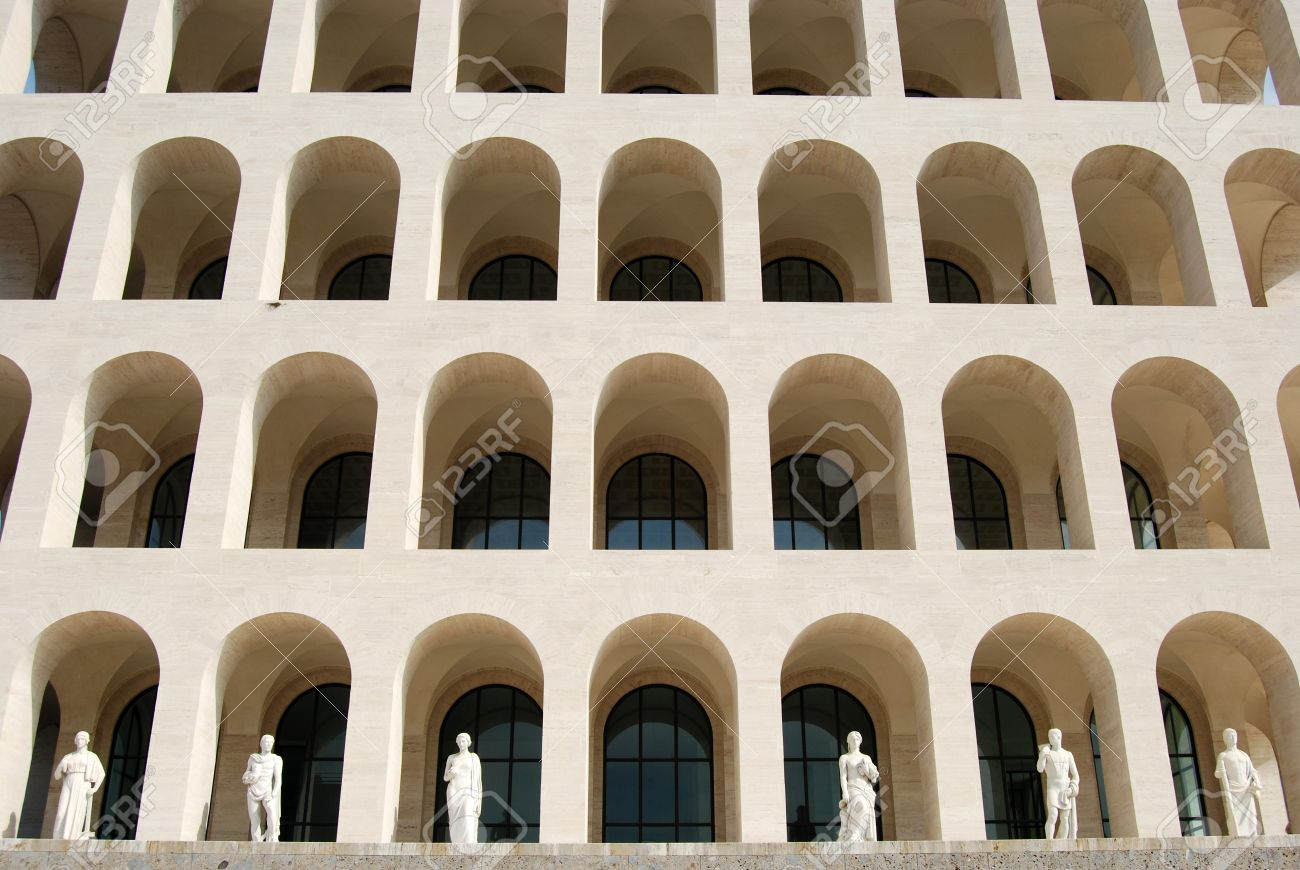Fine Modern Architecture In Rome Of Civilization 012 Italy Among Fascist With Inspiration