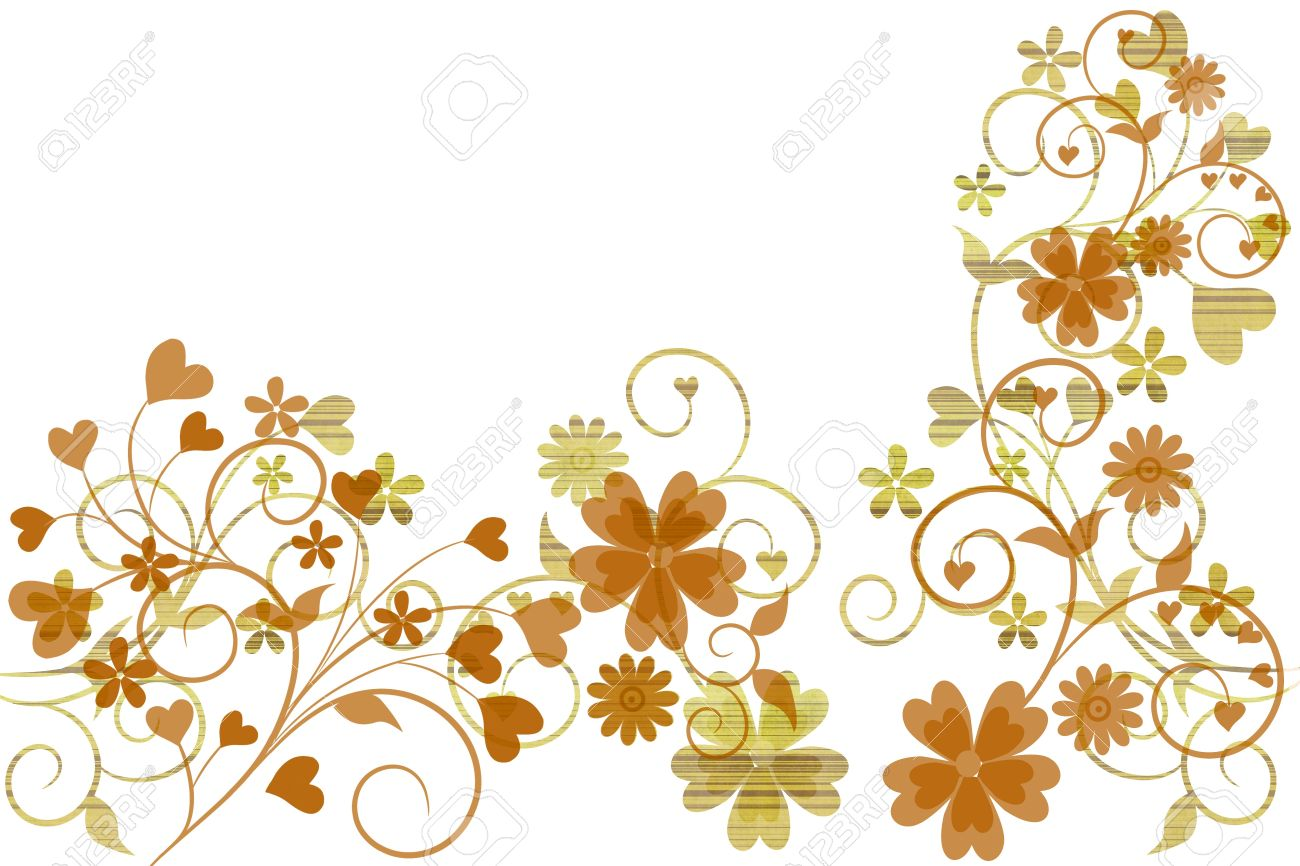 Interior Beautiful Design beautiful illustrated flower background design with space for your text stock photo 9366897