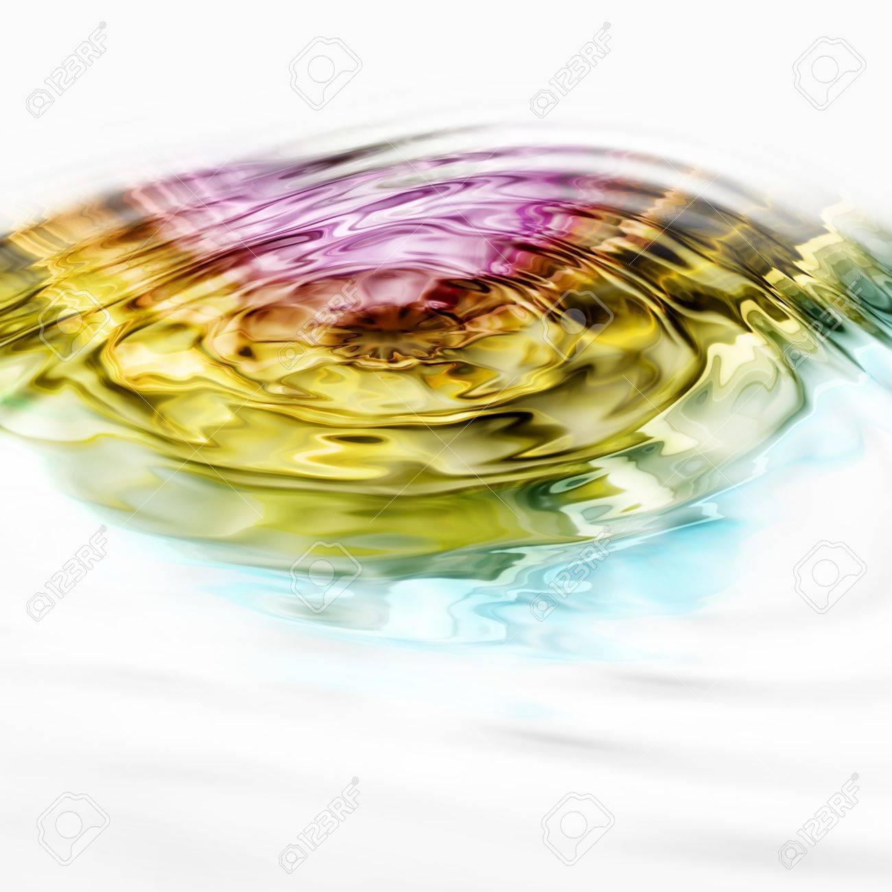 Illustrated wave background design Stock Photo - 9975435