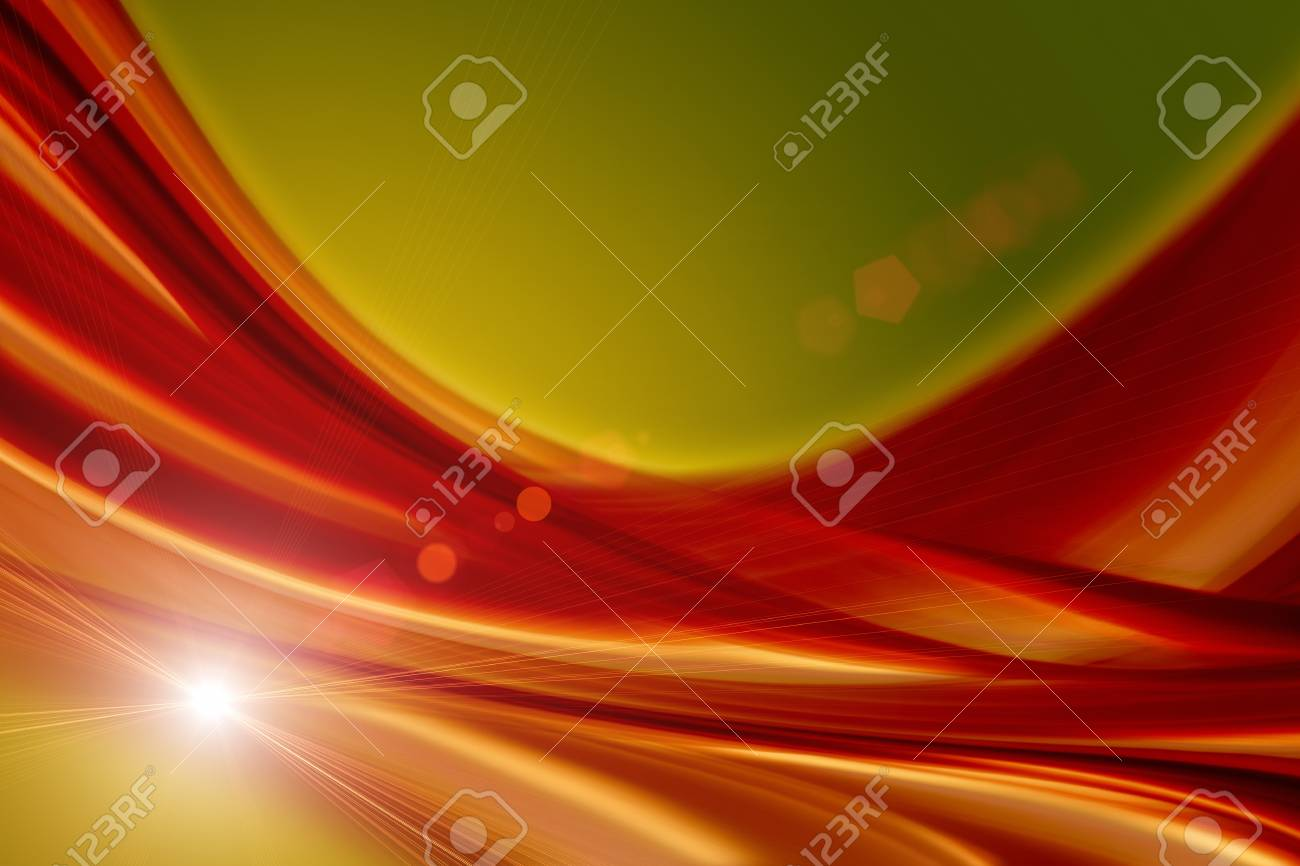 Futuristic technology wave background design with lights Stock Photo - 22361221