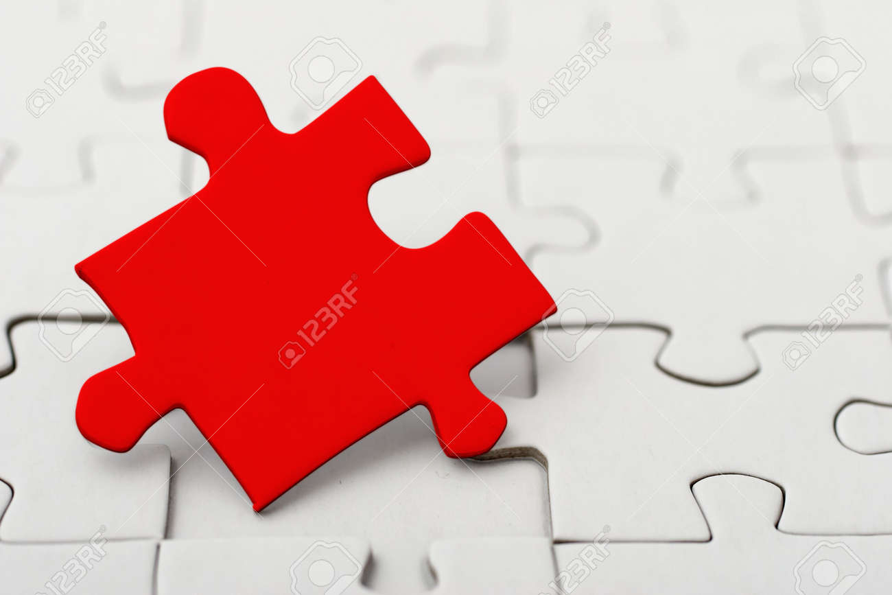 the missing piece of the game Stock Photo - 372596
