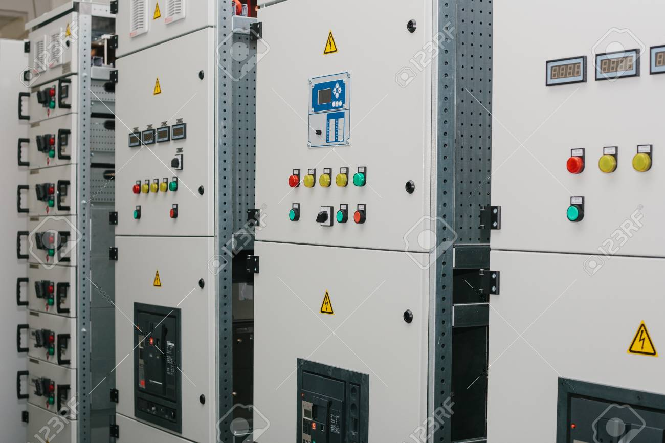 Manufacture of low-voltage cabinets. Modern smart technologies in the electric power industry. The use of electrical energy in industry. - 96006406