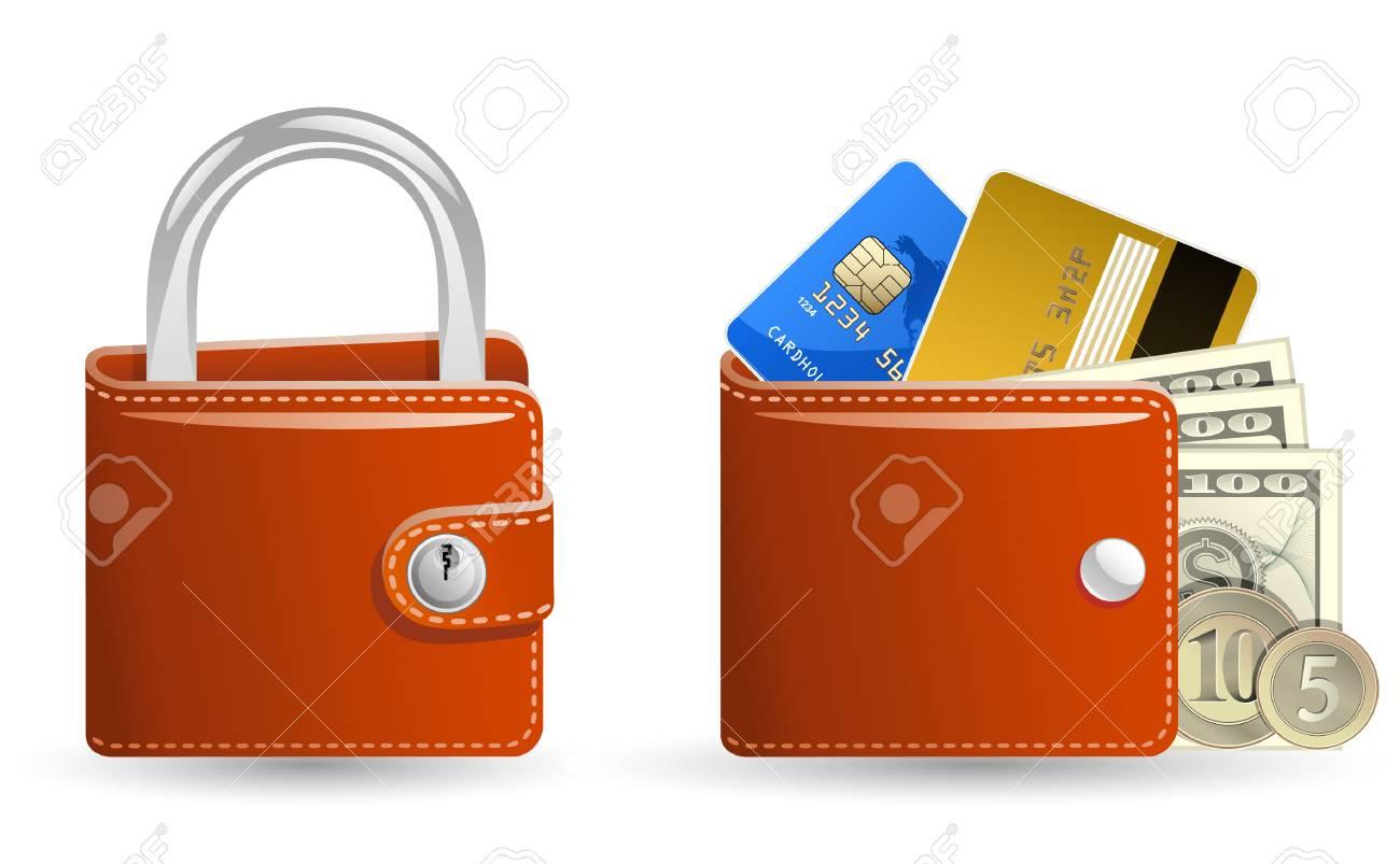 Money security concept Stock Vector - 6443771