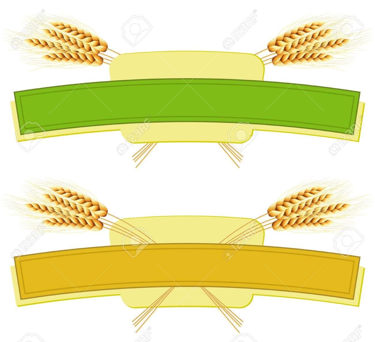 Package desing. Wheat flour or Pasta, macaroni, spaghetti. Stock Vector - 9878232