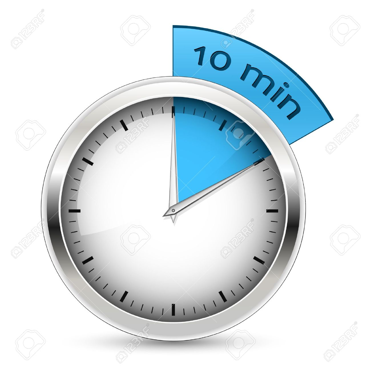 Timer-10-minutes-blue Royalty Free Cliparts, Vectors, And Stock ...