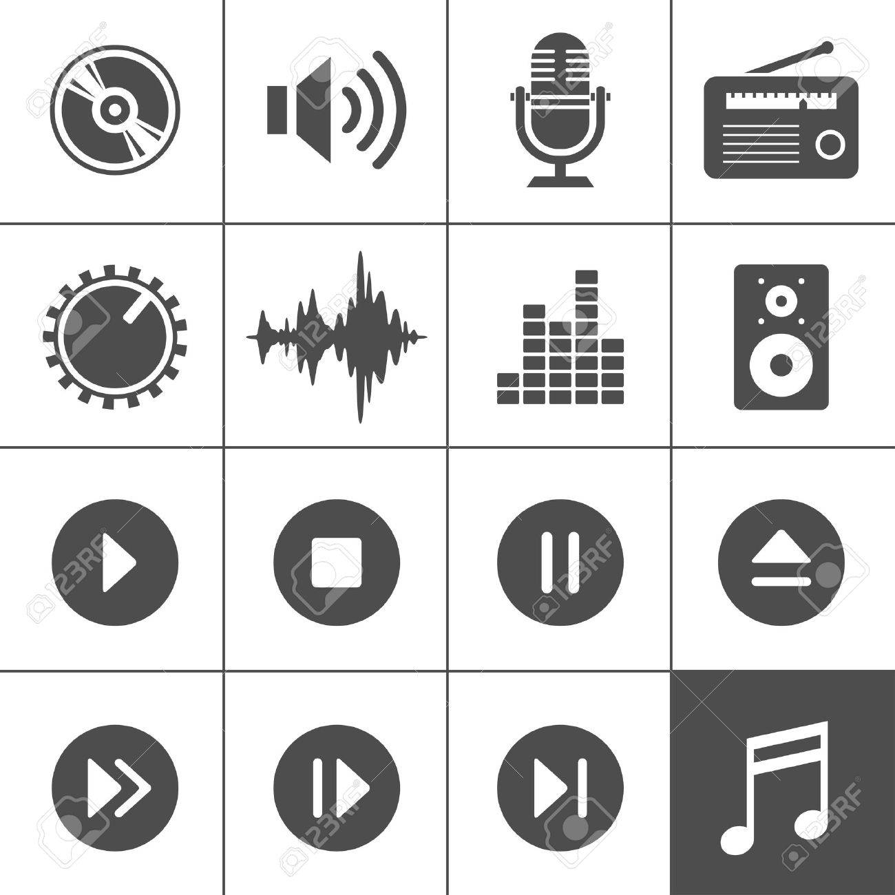 11,093 Audio Disk Stock Vector Illustration And Royalty Free Audio ...