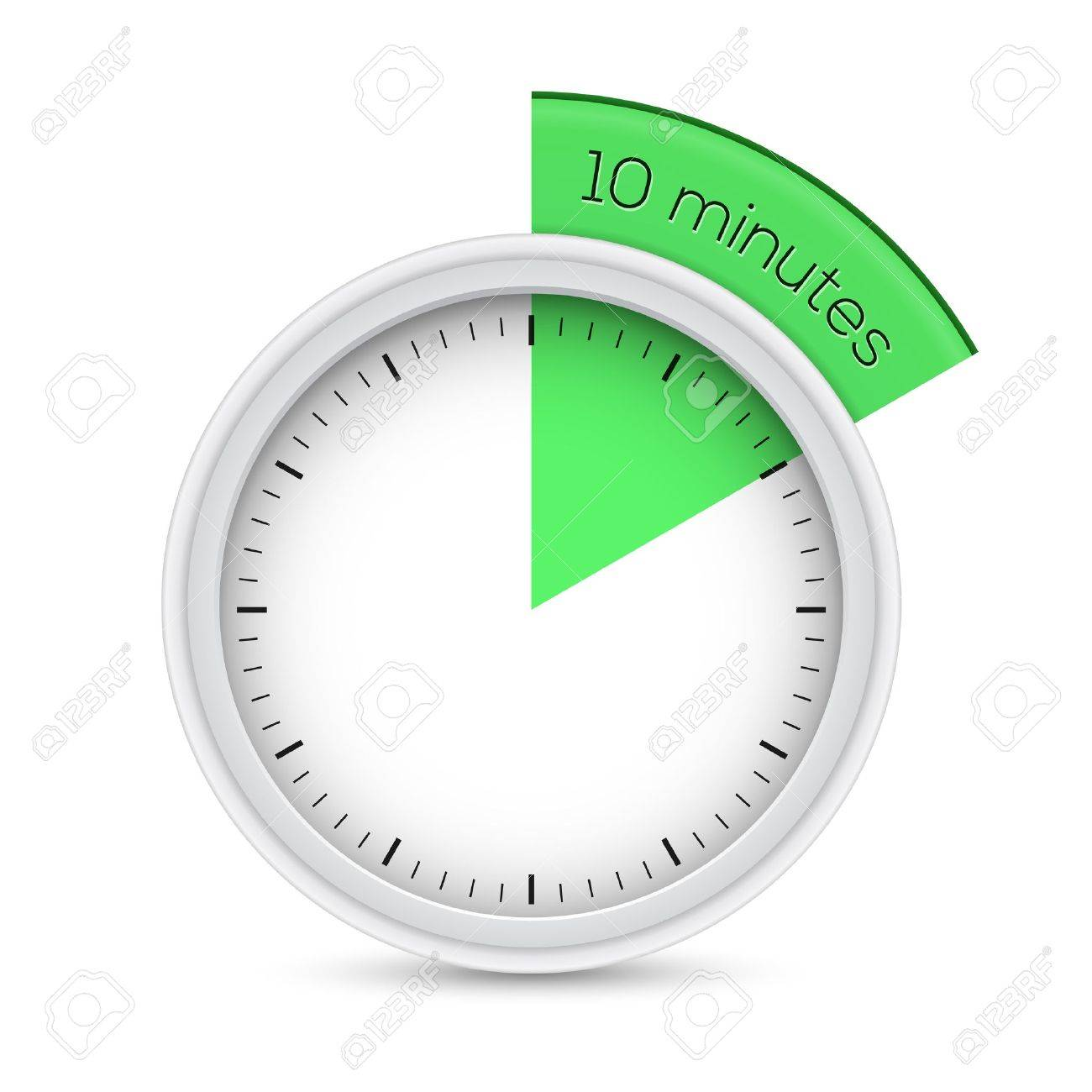 Illustration Of 10 Minutes Timer Royalty Free Cliparts, Vectors ...