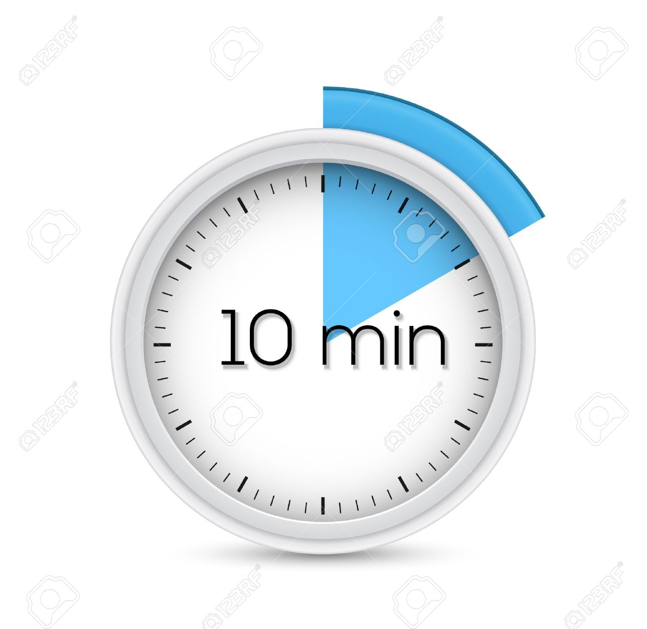 Ten Minutes Stopwatch Timer Illustration Royalty Free Cliparts ...