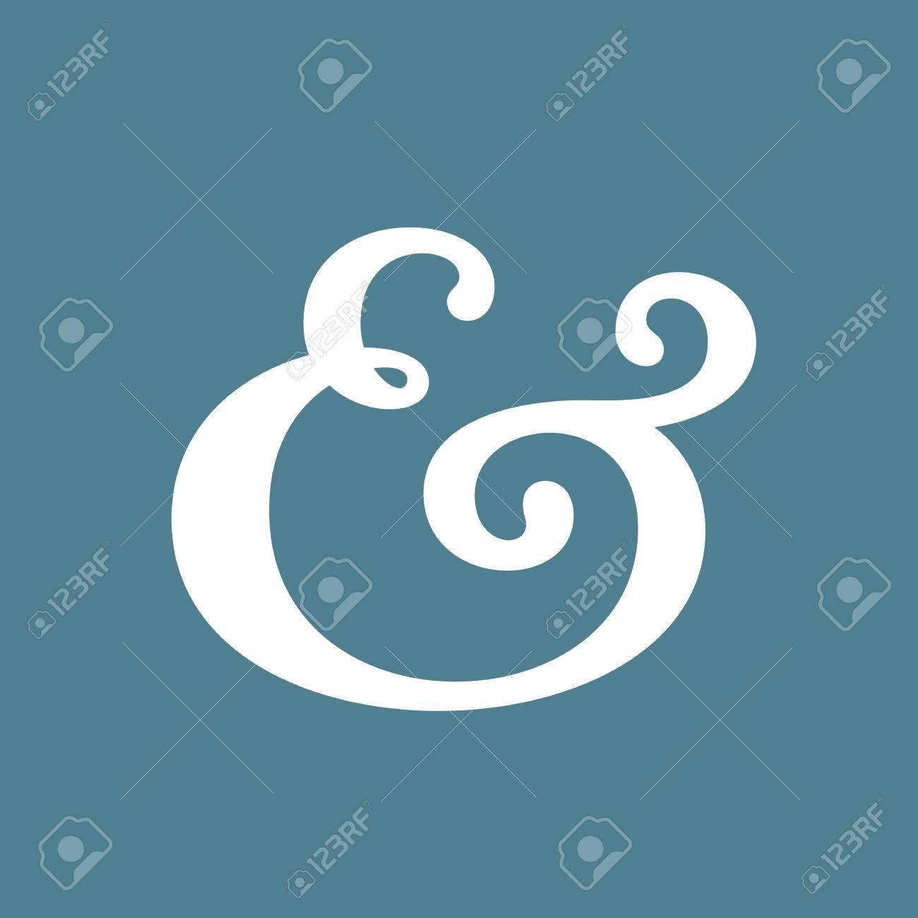 Elegant and stylish ampersand symbol for wedding invitation elegant and stylish ampersand symbol for wedding invitation vector illustration stock vector 31533409 stopboris Choice Image
