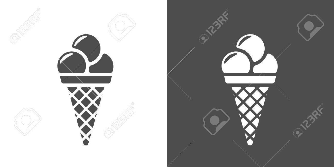 ice cream cone icon two tone version of icecream vector icon rh 123rf com ice cream victorian times ice cream victoria london