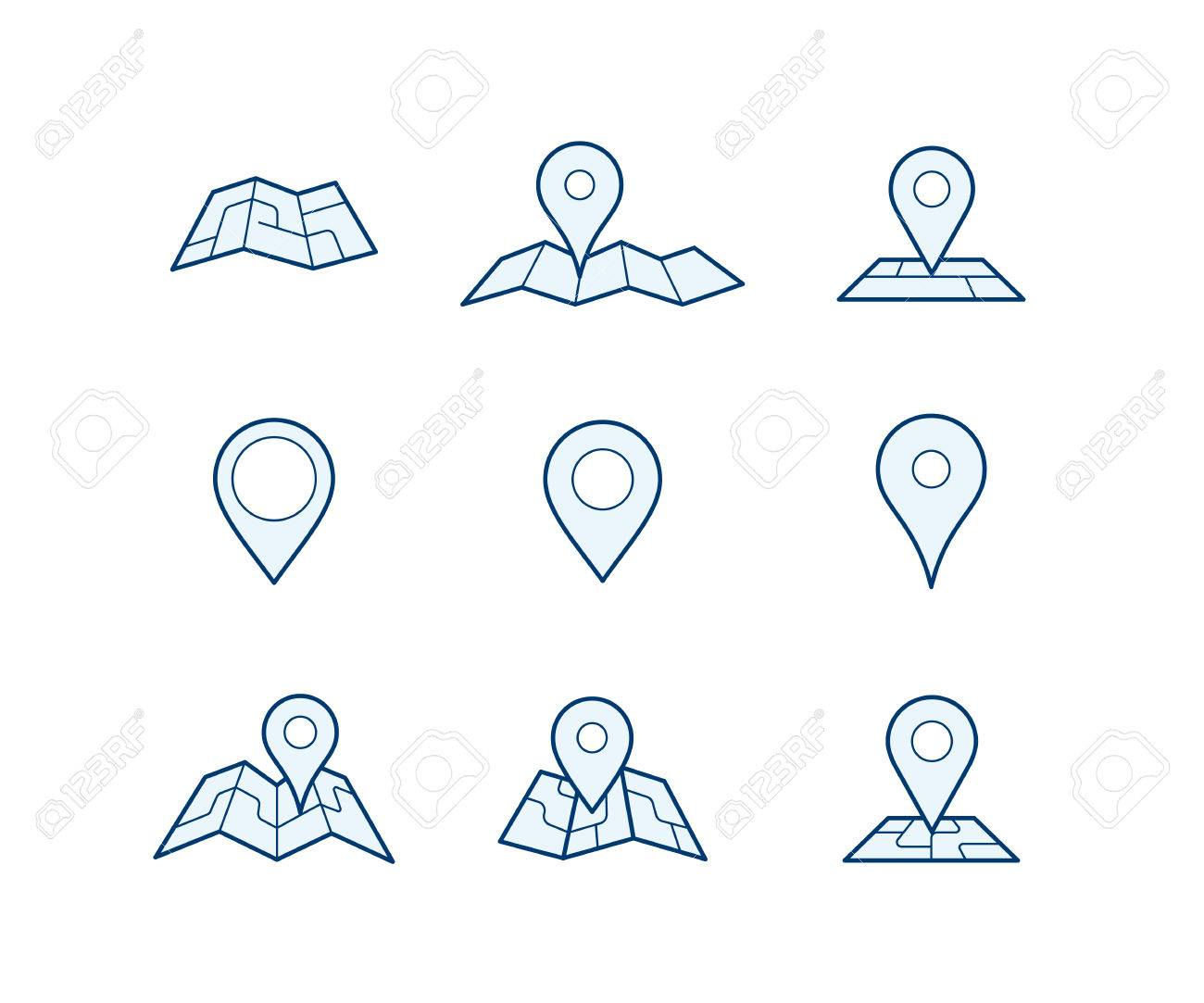 Maps And Geo Pins Make Your Own Custom Location Pin Icon For