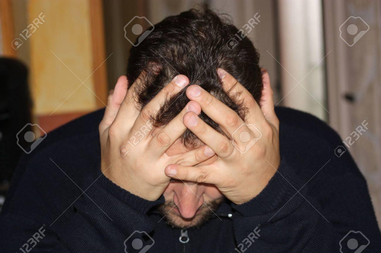 depressed man Stock Photo - 15336215