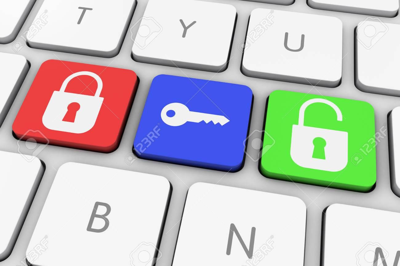 how to unlock pc keyboard