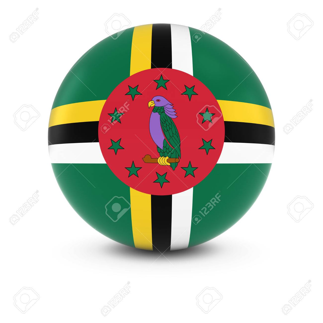 ドミニカ 共和国 国旗