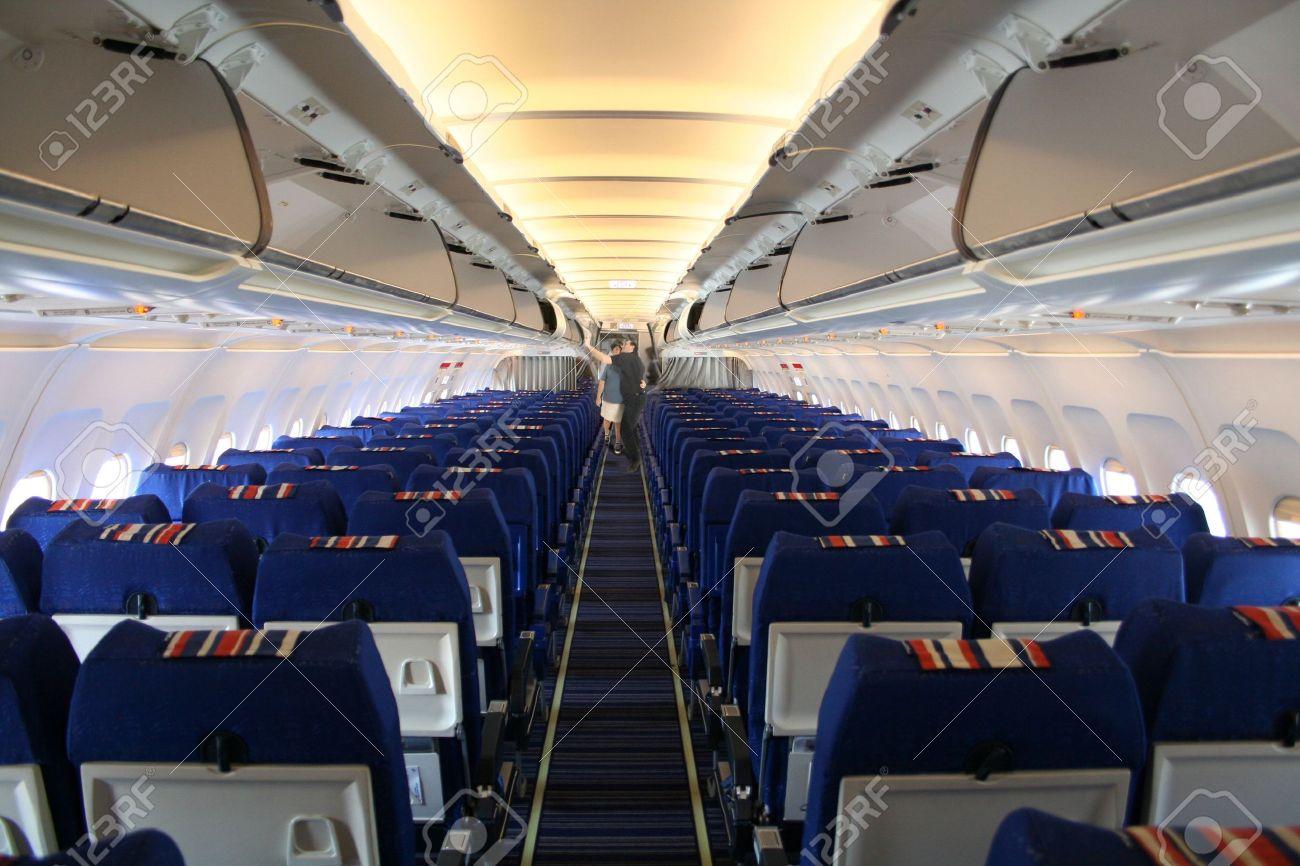 Airplane Interior Stock Photo   504060