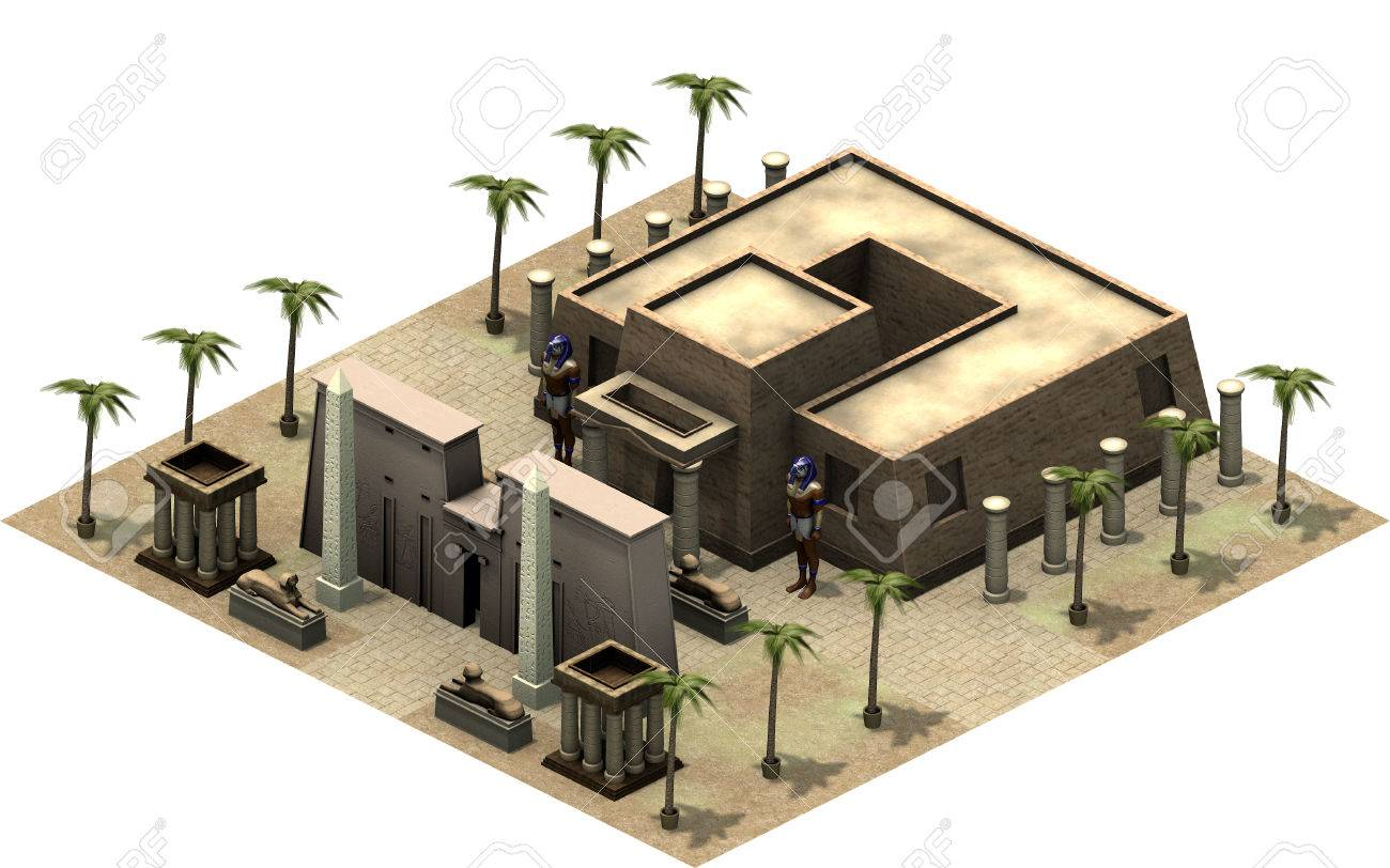 Isometric buildings of ancient egypt entrance to temple 3d stock isometric buildings of ancient egypt entrance to temple 3d rendering stock photo 77423101 ccuart Choice Image