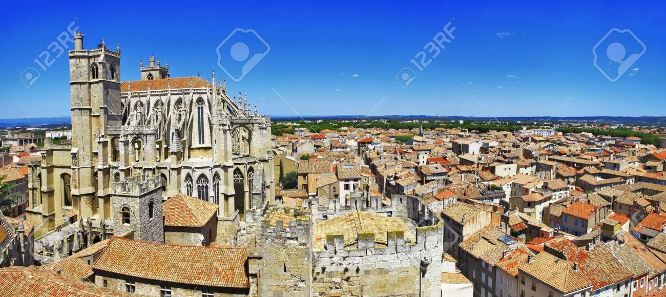大聖堂とナルボンヌ、フランス、...
