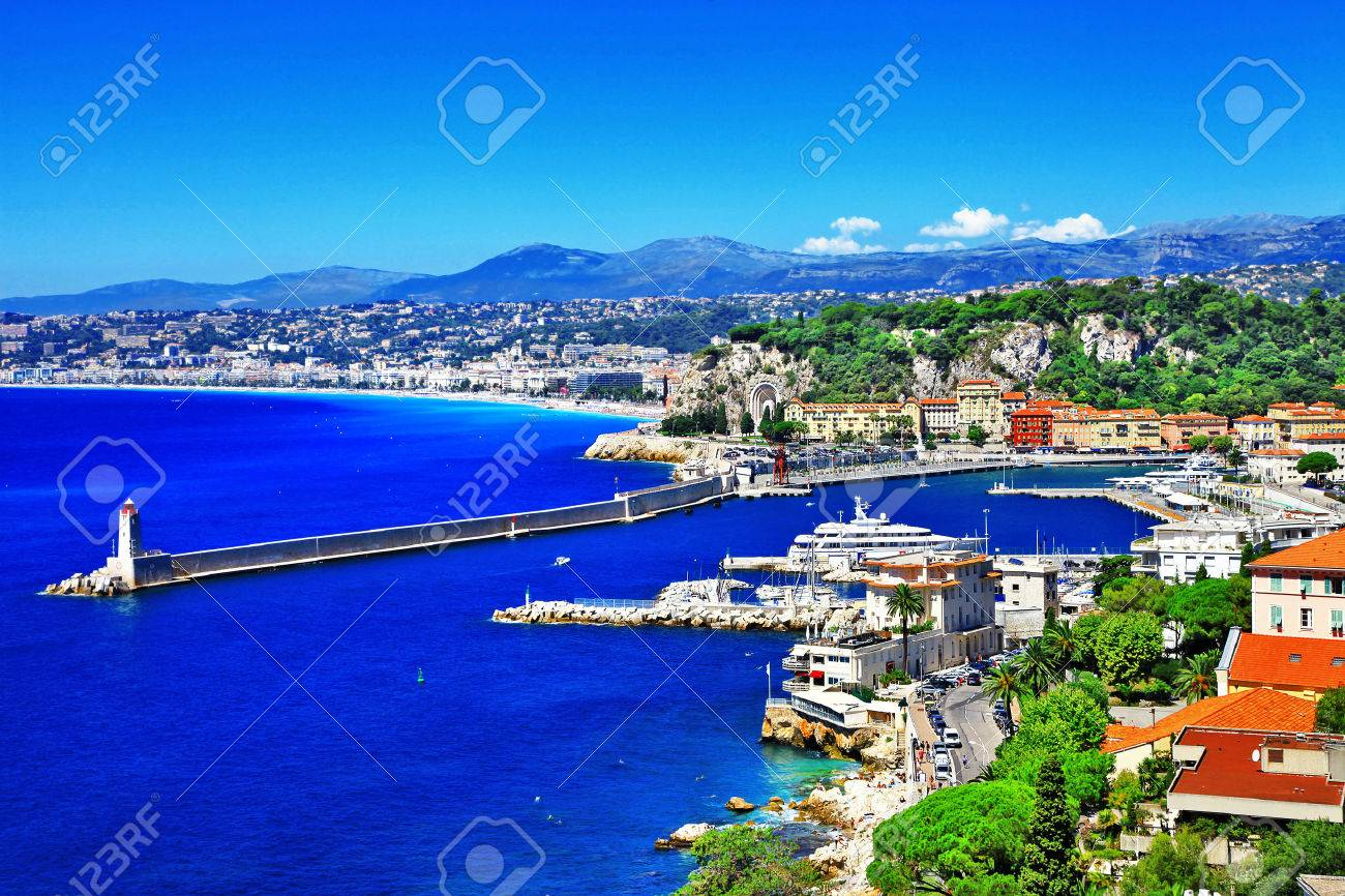 sunny Nice, south of France - 34188428