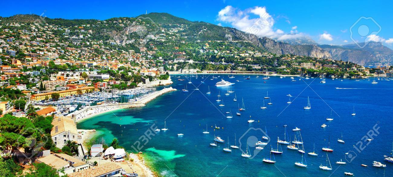 pictorial azzure coast of France, view ov Nice - 37761024