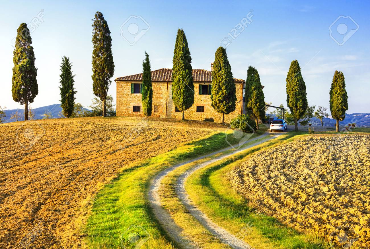 traditional landscapes of Tuscany, Italy - 44685532