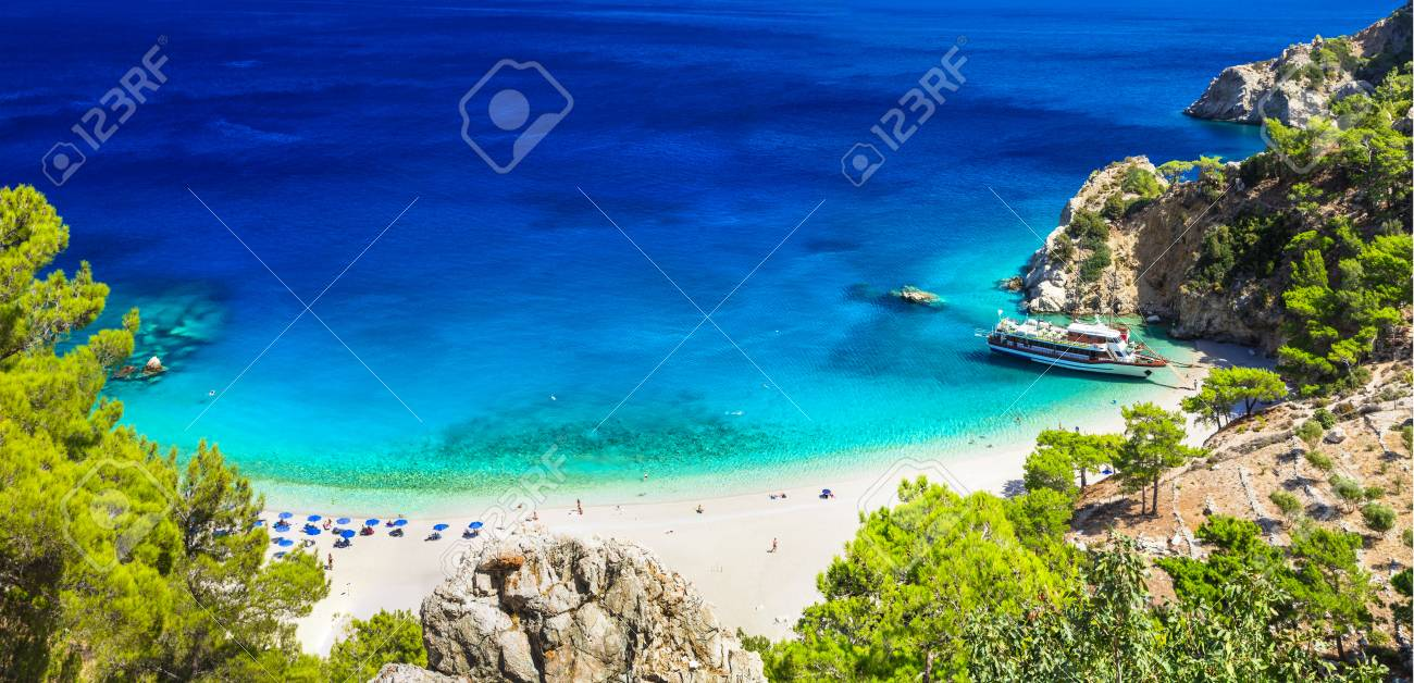 one of the most beautiful beaches of Greece- Apella in Karpathos island - 46149041