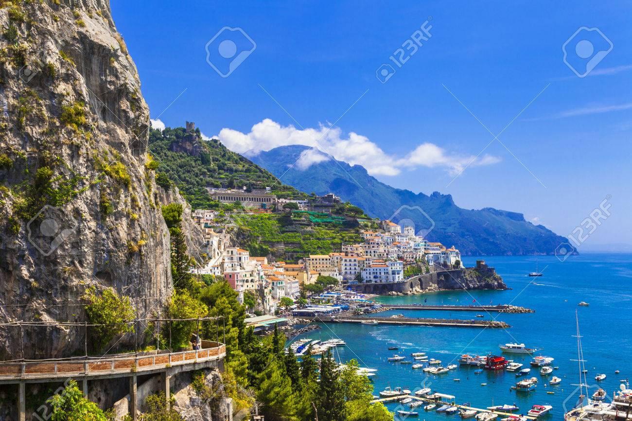 stunning Amalfi coast, Italy - 48996988