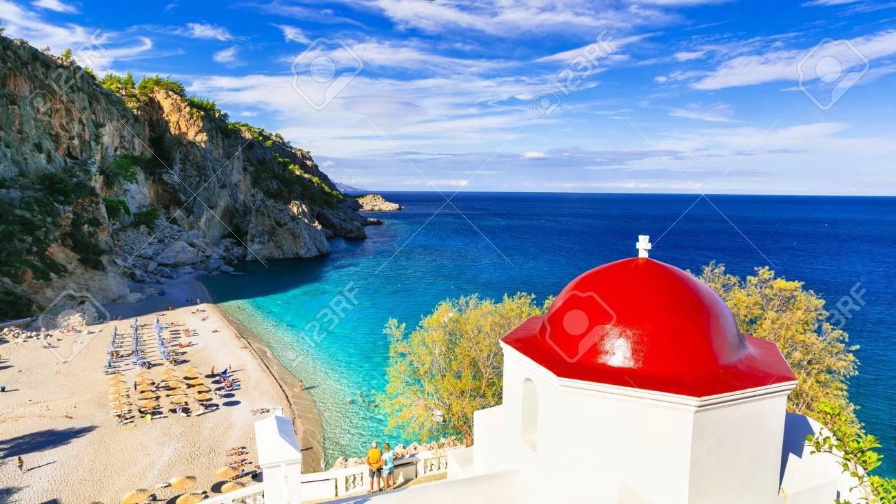 most beautiful beaches of Greece - Kyra panagia in Karpathos island - 49693947