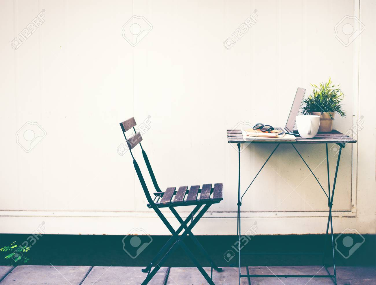 Stock Photo Workspace relaxing chill out