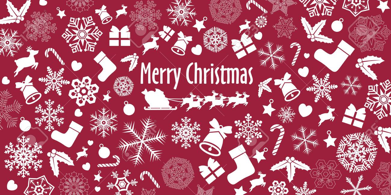 Christmas Ornament Background - 135423544