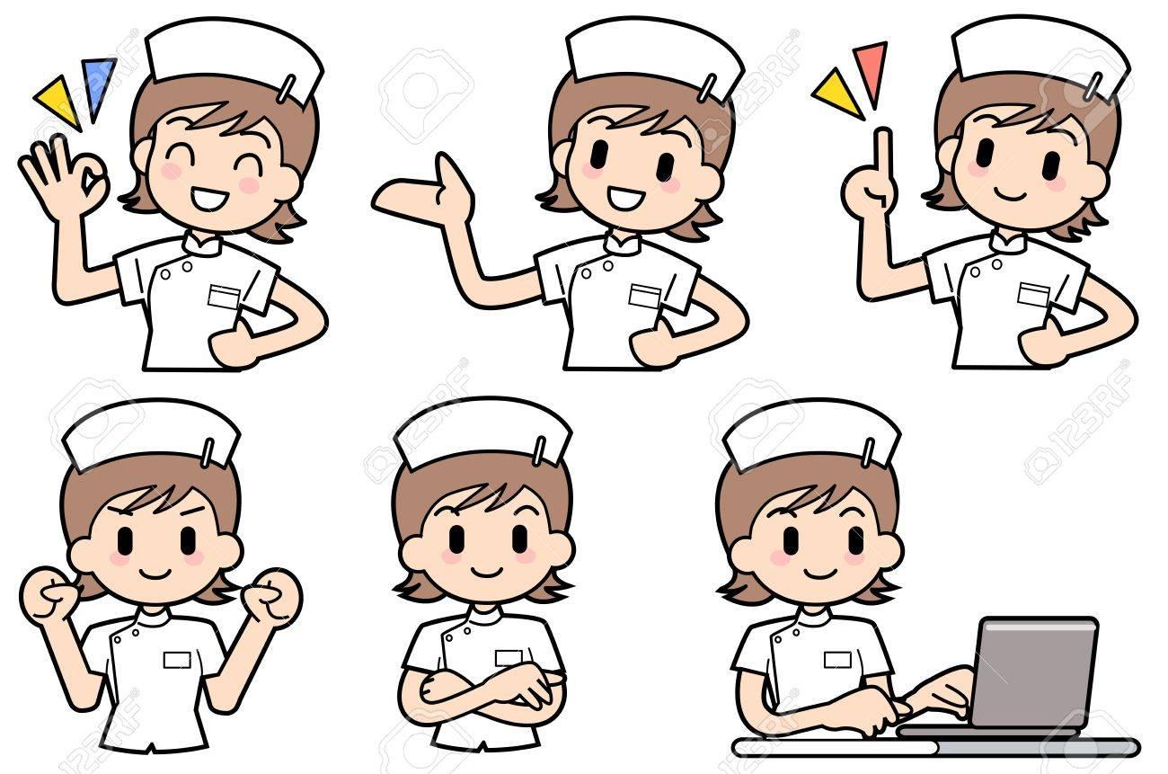 Nurse-Set Stock Photo - 15312579