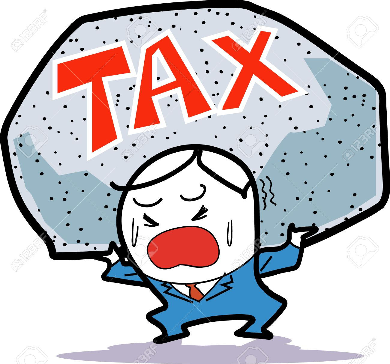 Tax Burden Stock Photo, Picture And Royalty Free Image. Image 15421430.