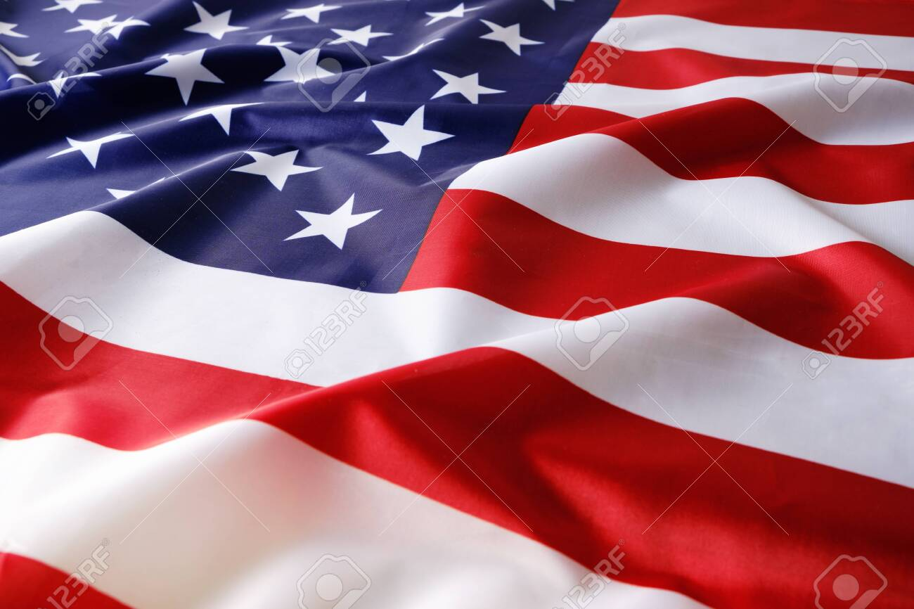 Background, flag of the United States of America,USA - 144798252
