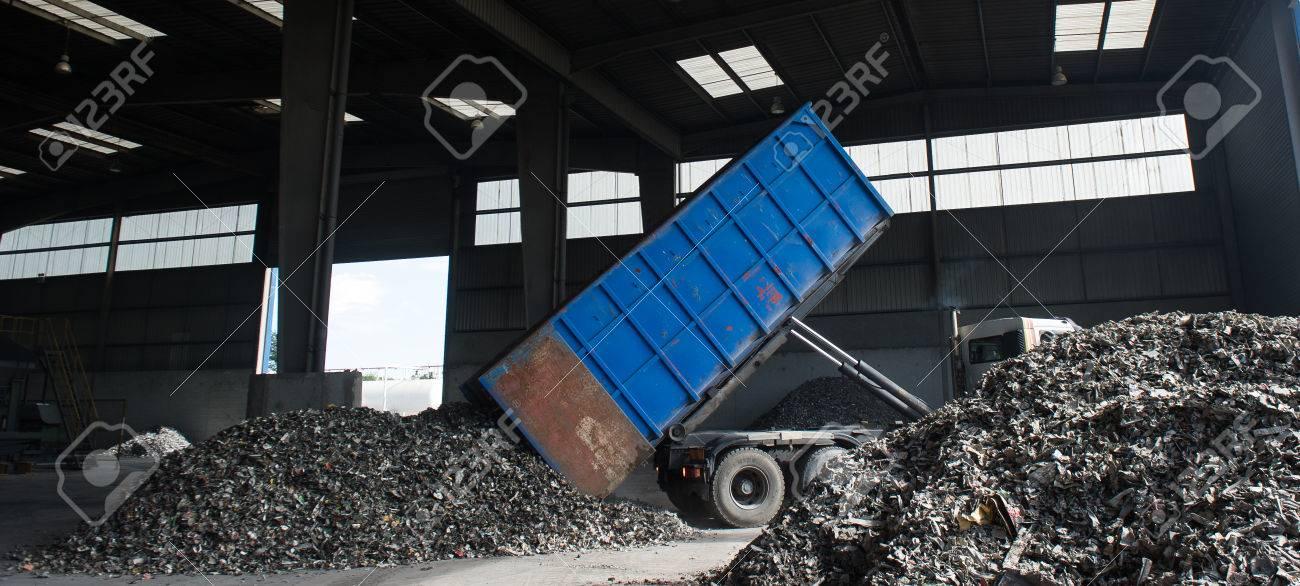 Metal finishing processing to suppress Iron, France Stock Photo - 71961593