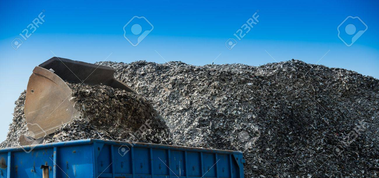 Metal finishing processing to suppress Iron, France Stock Photo - 71963157
