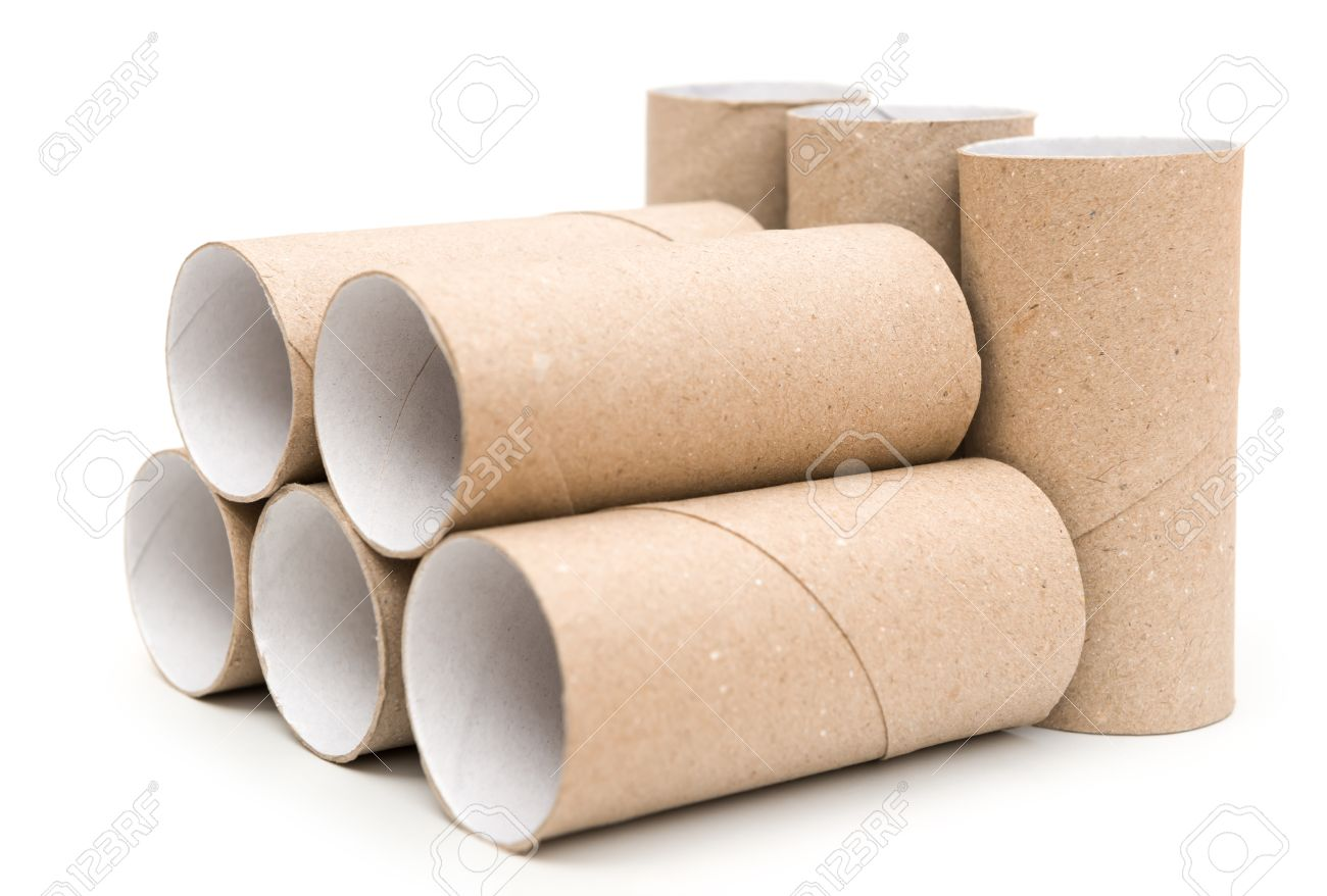 Rouleau Papier Toilette Vide