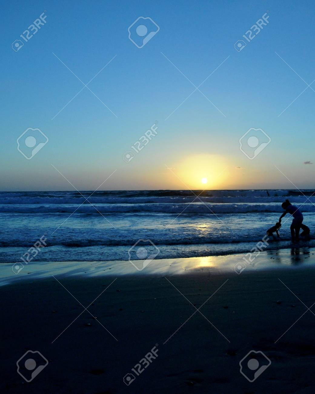mother and child at the beach Stock Photo - 9457081