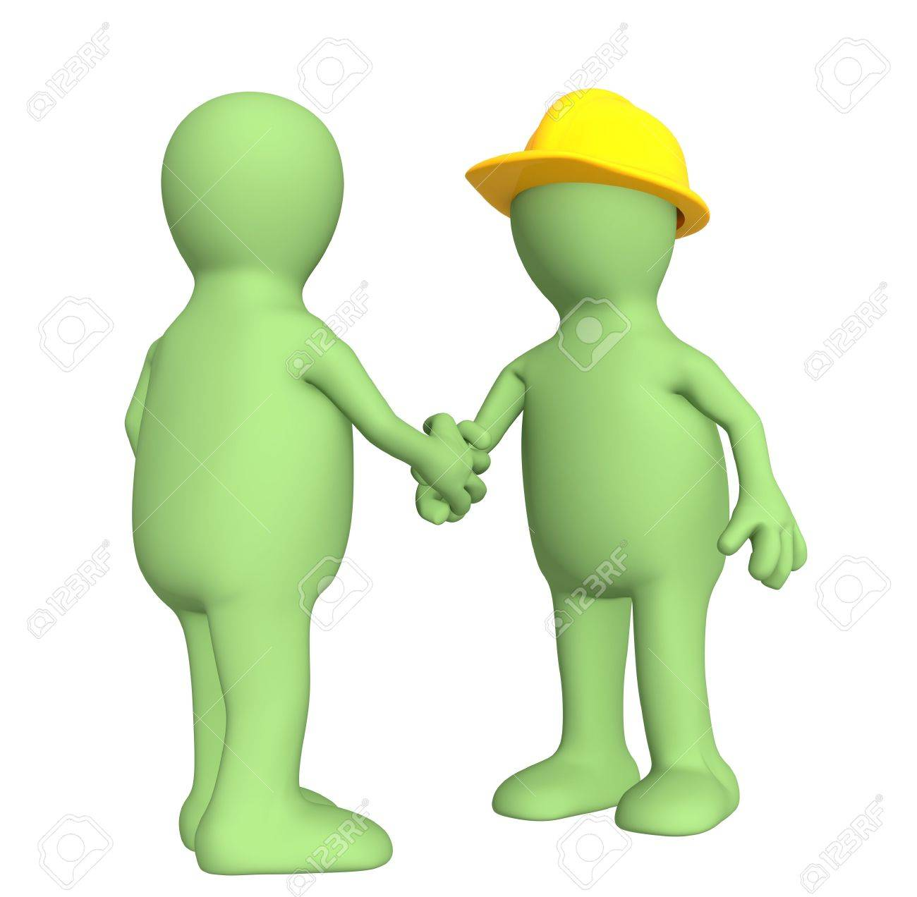 Conceptual image - successful end of work Stock Photo - 5083275