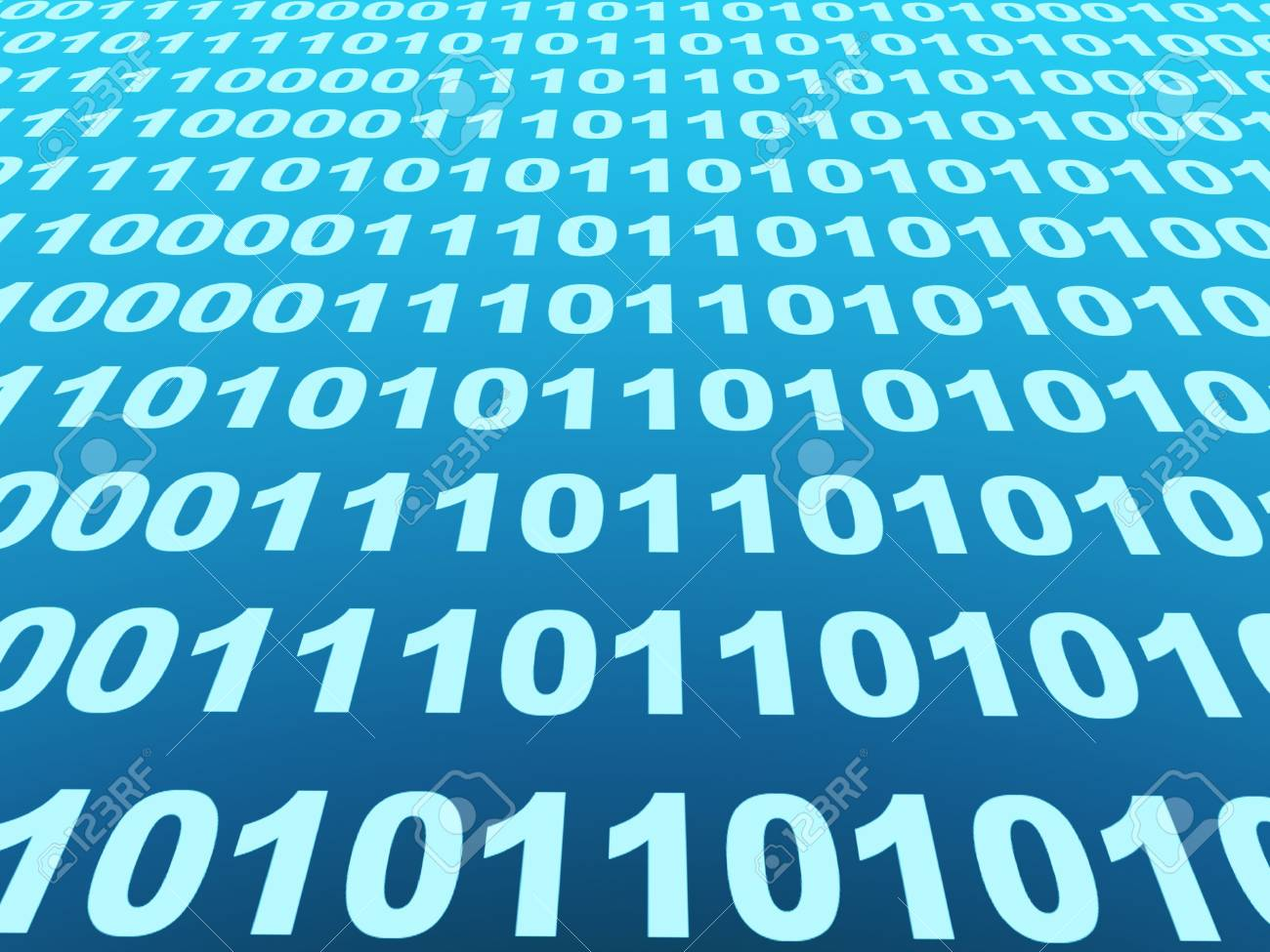 Internet concept - binary code Stock Photo - 5603356