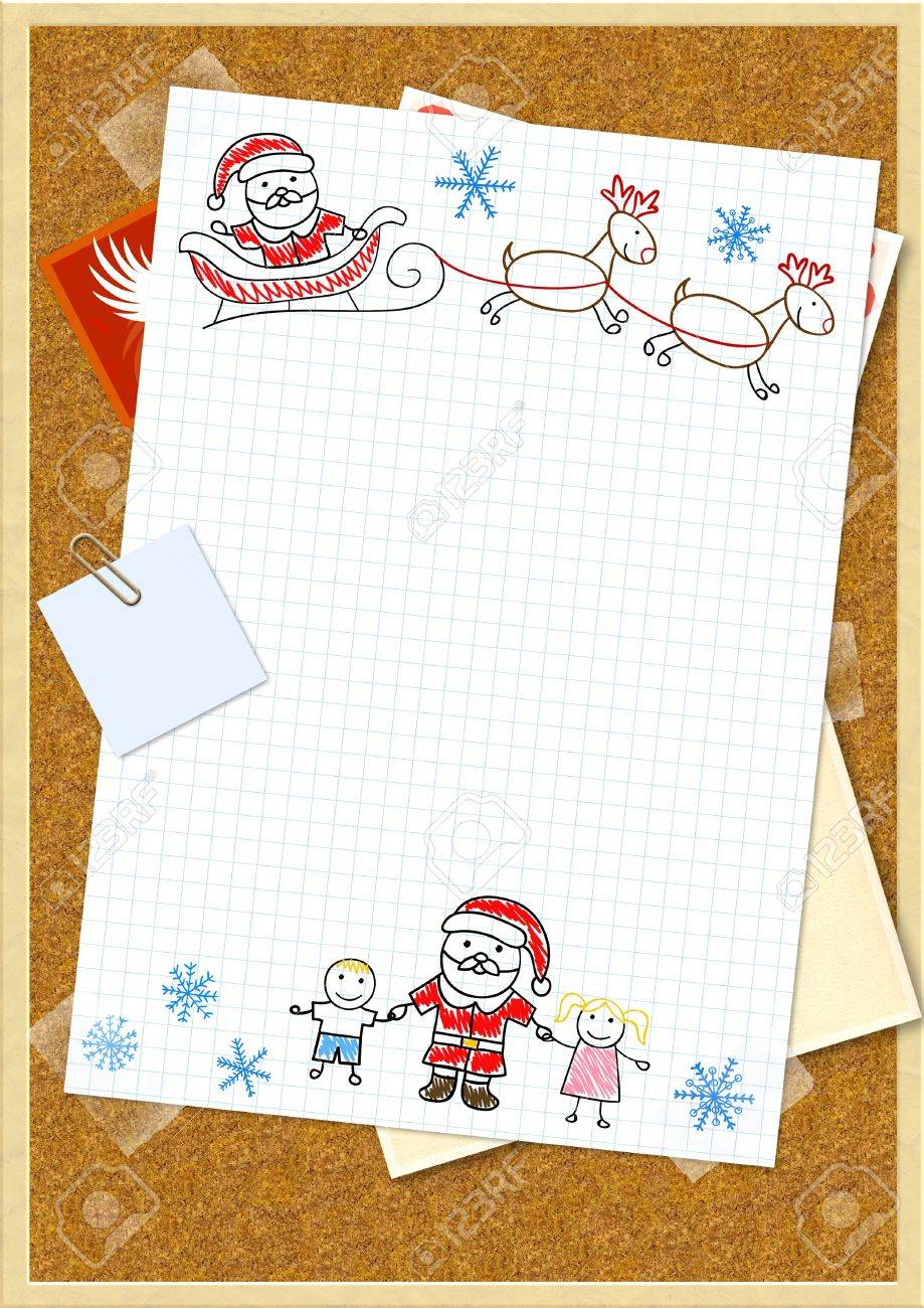 Santa Clause Letter college letter