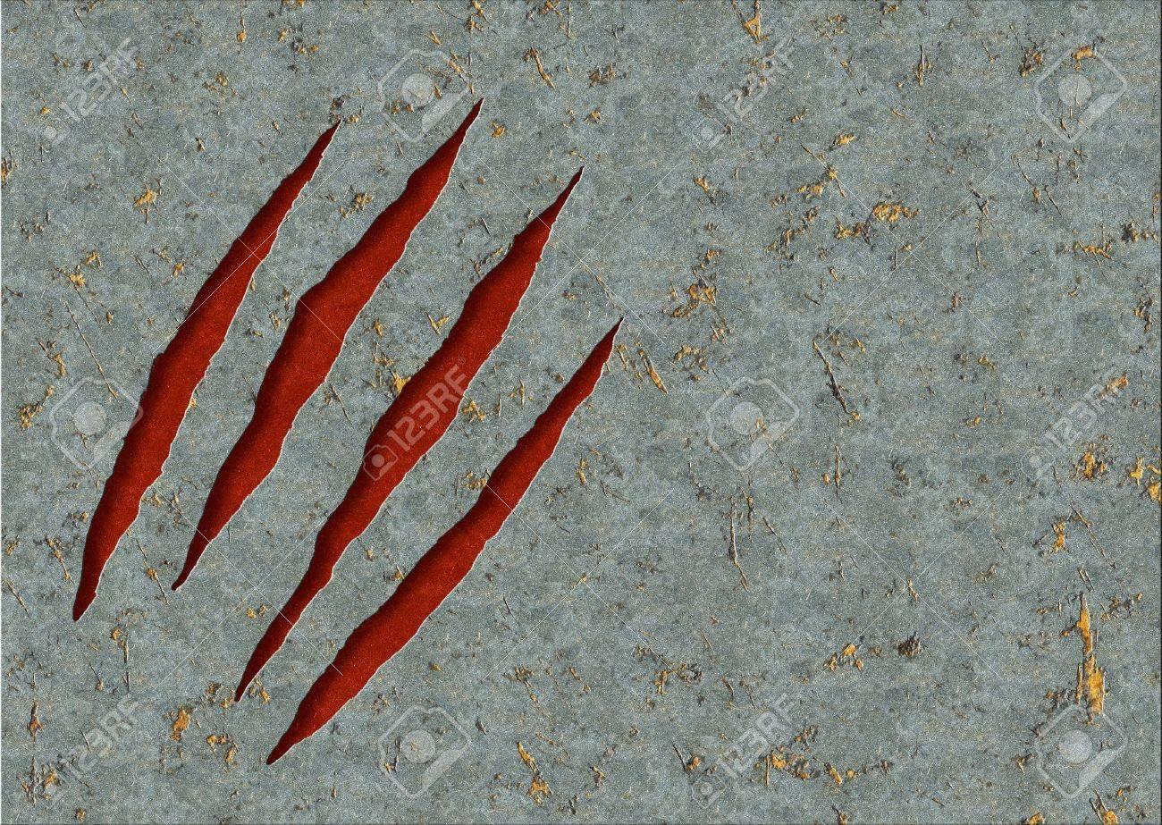 8597394-Horizontal-background-metal-ripp