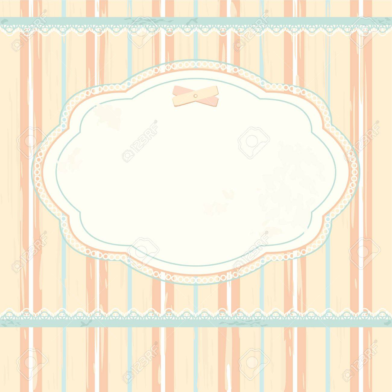 Vector background in shabby chic style Stock Vector - 13732610