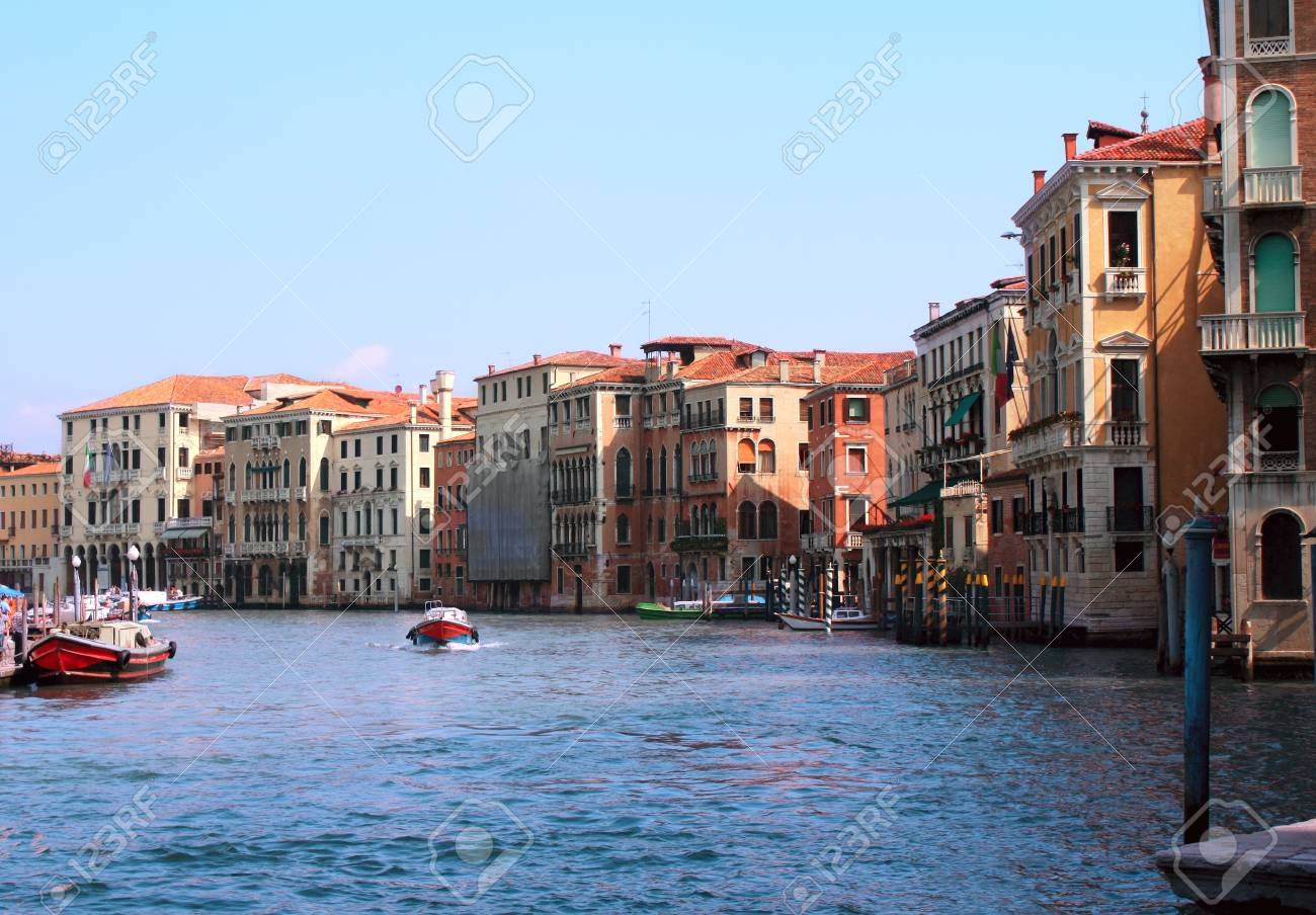 Typical Venice street. Summer day Stock Photo - 16075122