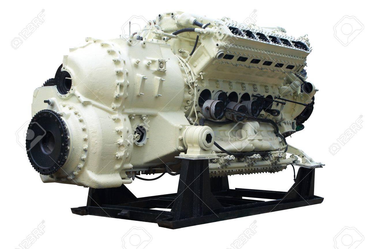 Big internal combustion engine. - 7880472