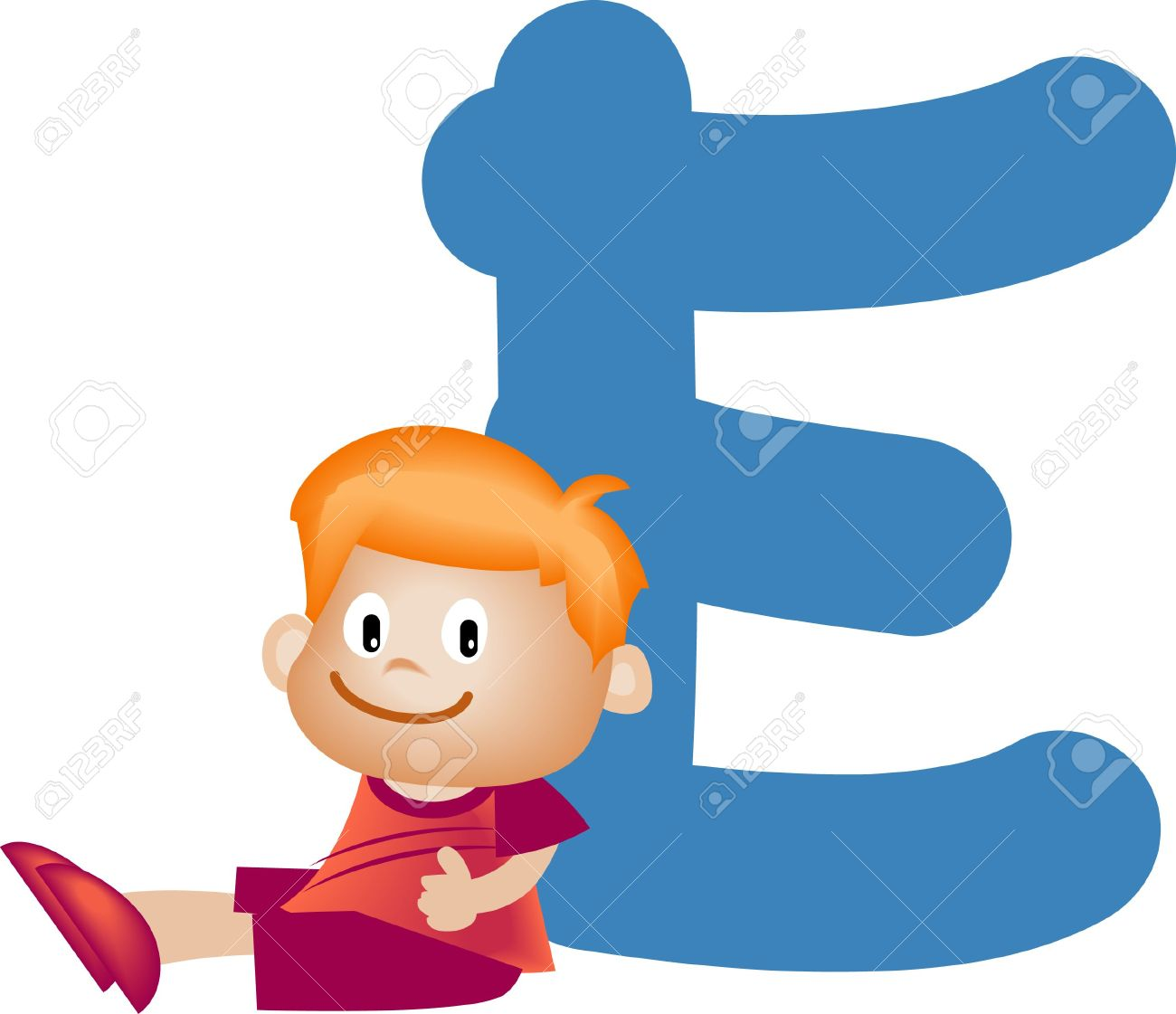 Boy with alphabet letter e stock photo picture and royalty free boy with alphabet letter e stock photo 3207804 thecheapjerseys Choice Image