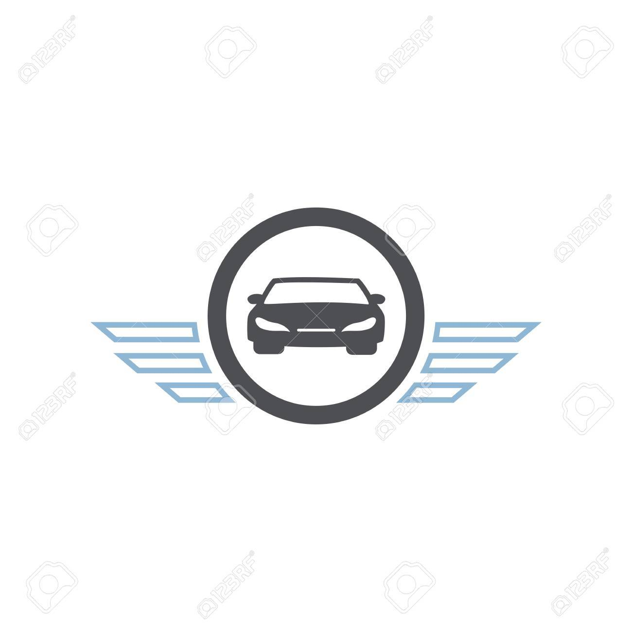 Icon car symbol wings deisgn vector royalty free cliparts vectors icon car symbol wings deisgn vector stock vector 57939983 biocorpaavc Choice Image