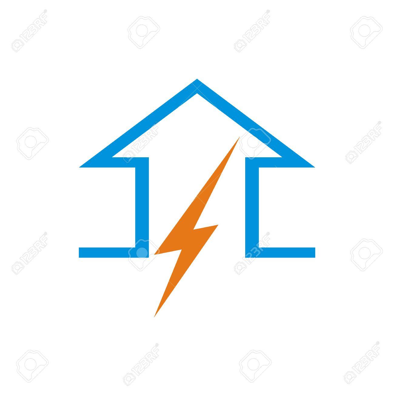 Electric Arrow Logo Symbol Power Voltage Icon Vector Royalty Free ...